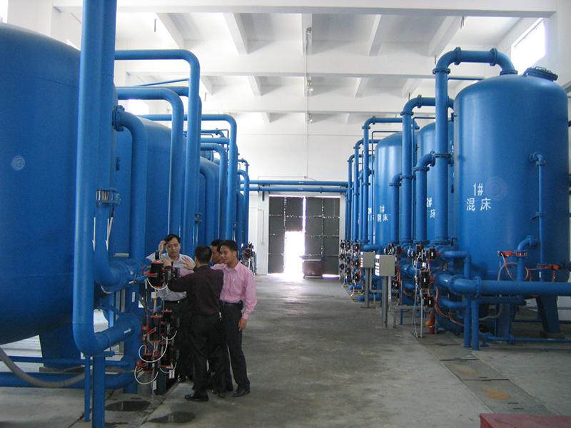热电站除盐水系统工程